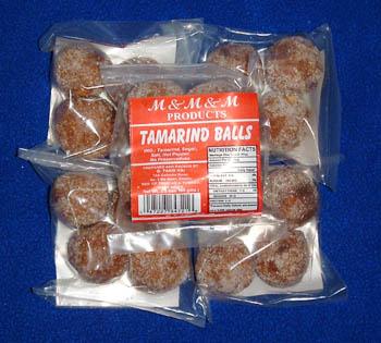 M&M&M Tamarind Balls