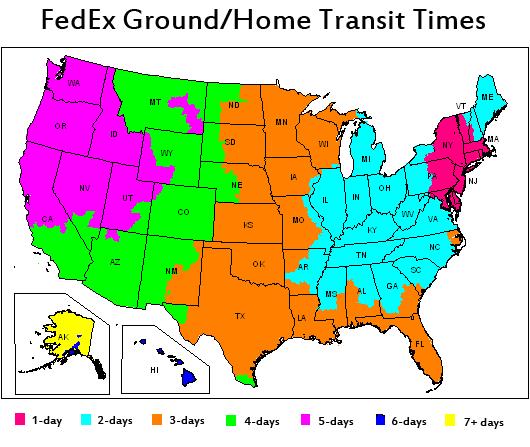 FedEx Transit Times