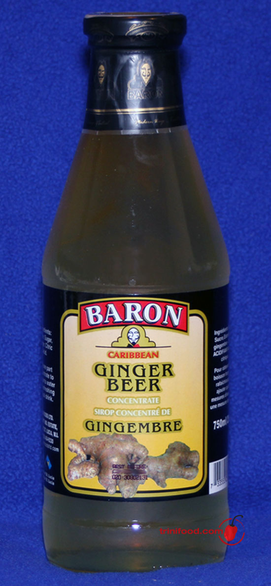 Baron Ginger Beer Concentrate
