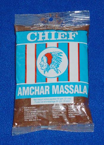 Chief Amchar Massala - 3oz