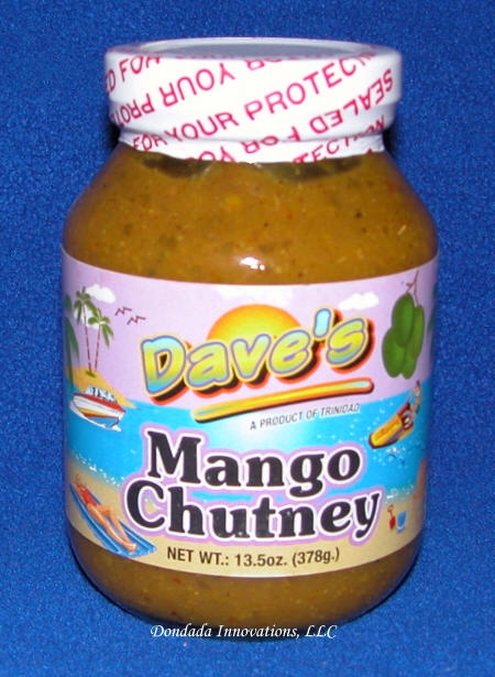 Dave's / Chatak's Mango Chutney - 13.5oz