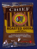 Chief Roasted Geera - 3oz (Cumin)